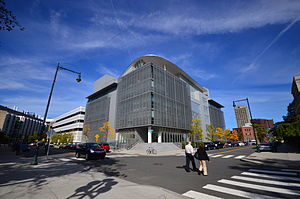 The new MIT Media Lab building (E14)