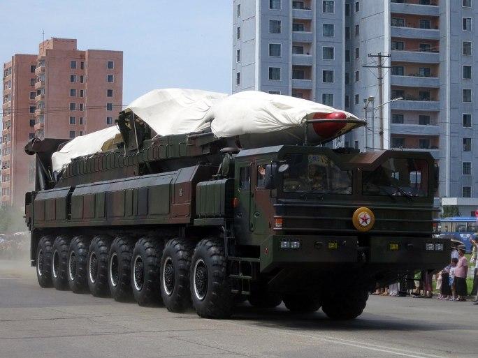 North Korea's ballistic missile - North Korea Victory Day-2013 01