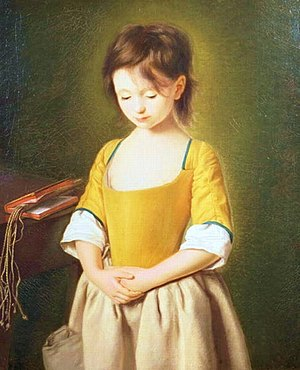 penitent girl