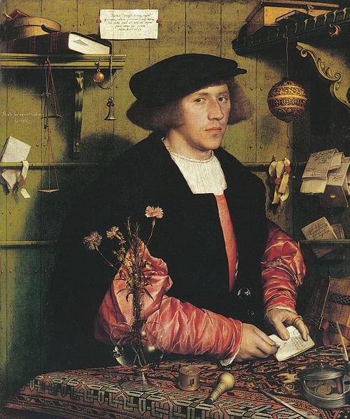 File:Portrait of Georg Gisze, by Hans Holbein the Younger.jpg