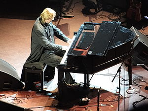 Rick Wakeman appearing at the Royal Albert Hal...