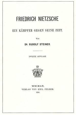 English: front cover of Friedrich Nietzsche - ...