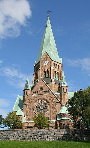 English: Sofia Church in Stockholm Polski: Sof...