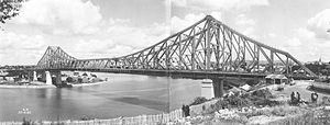 English: Story Bridge, Brisbane, 1940.