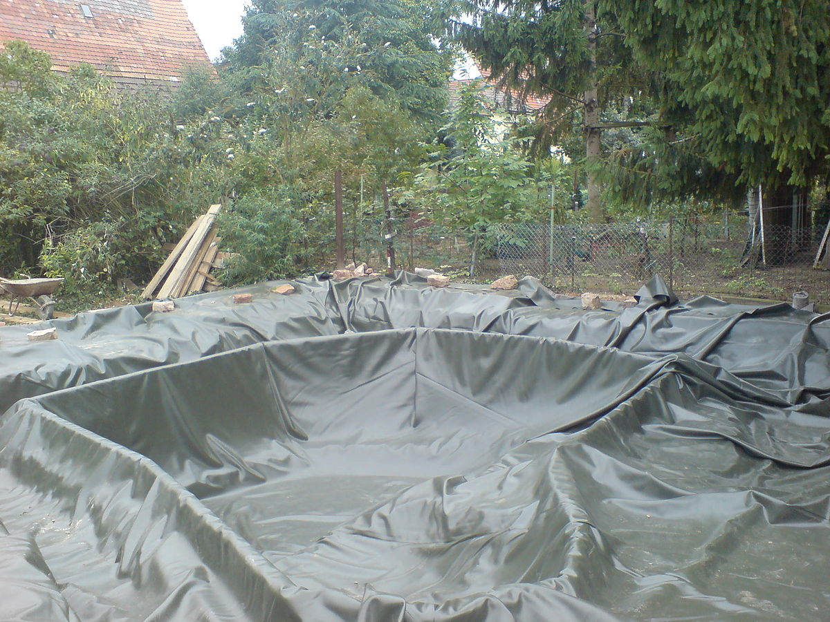 Backyard Pond Liners