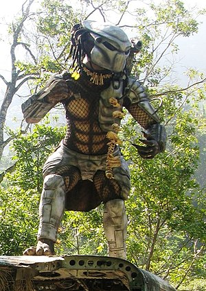 The Predator from Predator filming site (Puert...