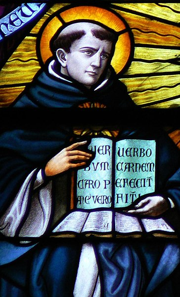 File:Thomas Aquinas in Stained Glass.jpg