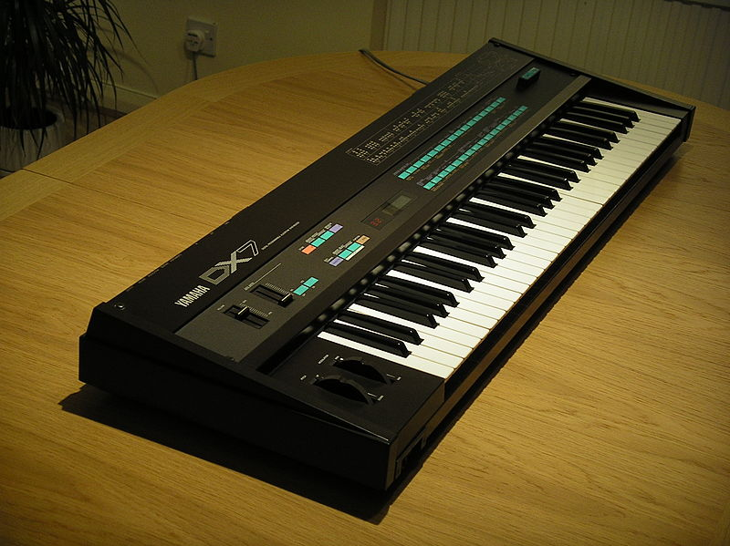 Yamaha DX7 - photo: Steve Sims