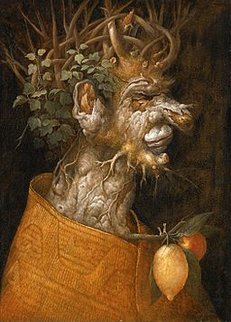 'Allegory of Winter', manner of Giuseppe Arcimboldo