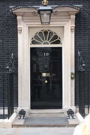 English: 10 Downing Street door