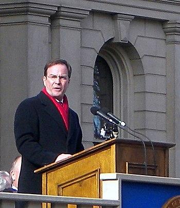 English: Michigan Attorney General Bill Schuet...