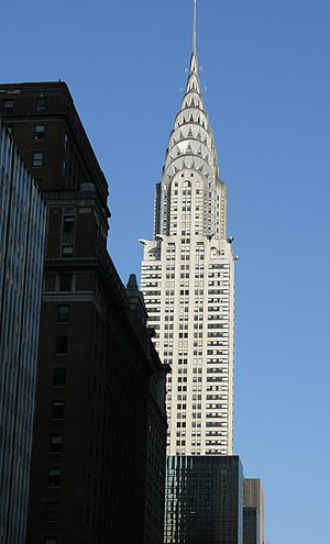 English: The Chrysler Building is an Art Deco ...