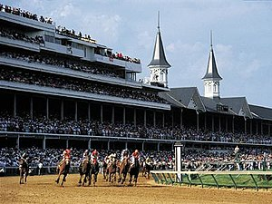 English: Kentucky Derby, unknown date Permissi...