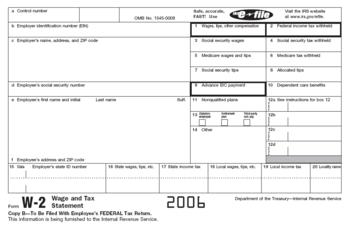 IRS Form W-2