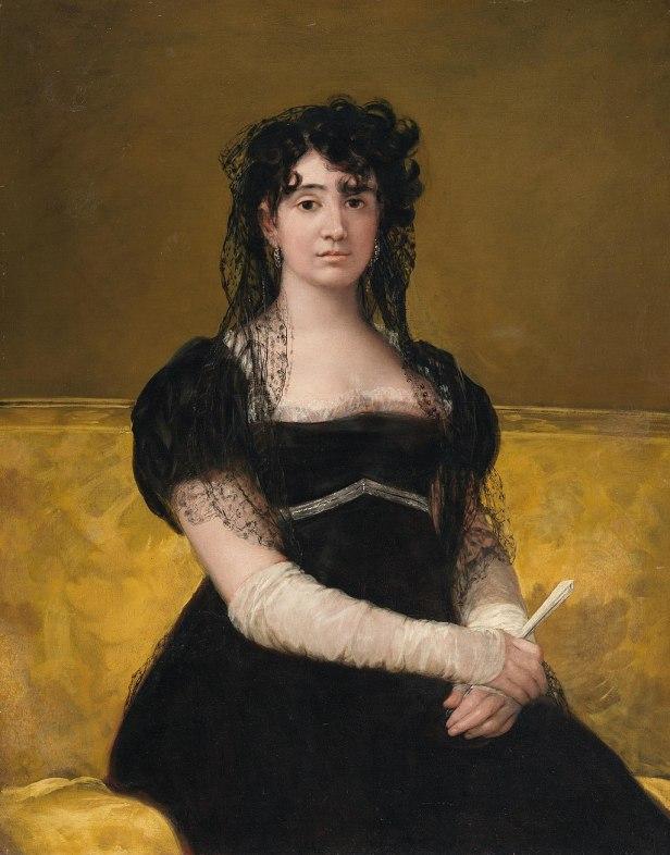 Francisco de Goya y Lucientes - Portrait of Antonia Zárate - WGA10053