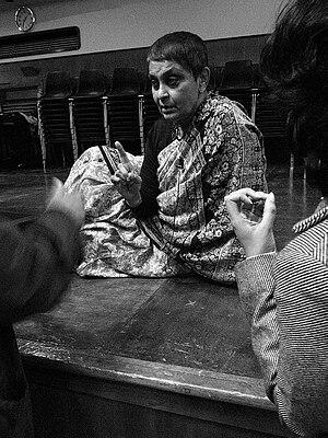 Gayatri Chakravorty Spivak at Goldsmiths Colle...