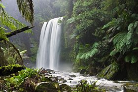 Much attention has been given to preserving the natural characteristics of Hopetoun Falls, Australia, while allowing ample access for visitors.