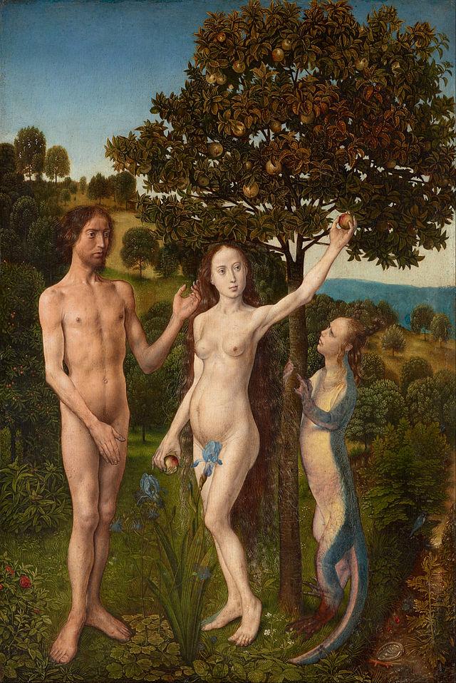 Hugo van der Goes - The Fall of Man and The Lamentation - Google Art Project.jpg
