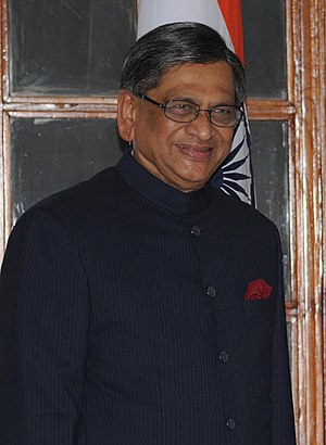 English: Indian Minister of External Affairs S...