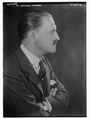 English: W. Somerset Maugham early in his career.