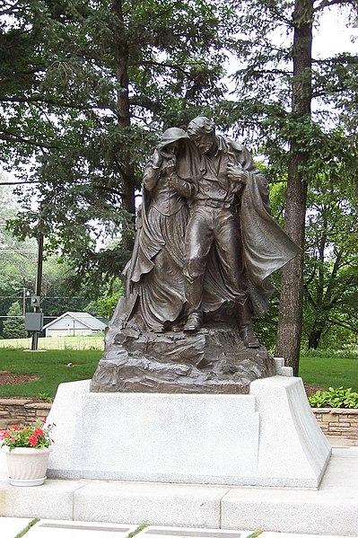 File:Mormon Pioneer Cemetery Monument - June 10, 2006.jpg