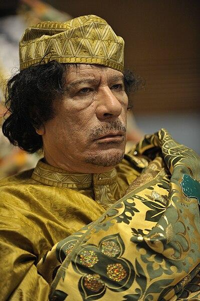 Muammar al-Gaddafi; Foto: Wikipedia