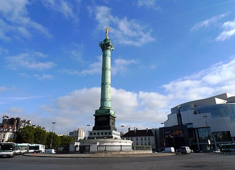 Place de la Bastille, Paris October 2010