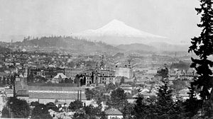English: Panorama of Portland, Oregon, United ...