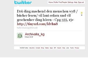 English: A Twitter tweet