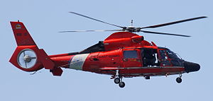 English: An HH-65c from CGAS Los Angeles of Th...