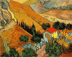 English: Oil painting reproduction of Vincent ...