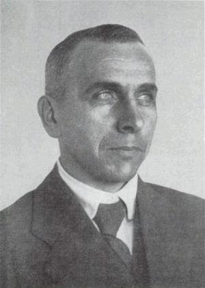 Photograph of Alfred Wegener, the scientist