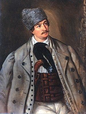 Avram Iancu - portrait by Barbu Iscovescu