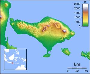 Kuta is located in Indonesia Bali
