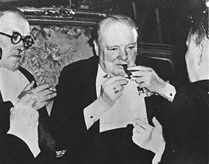 Churchill at Potsdam, July 1945
