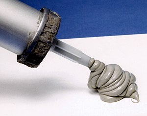 Silicone caulk can be used as a basic sealant ...