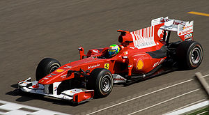 Felipe Massa Ferrari single-seater during Bahr...