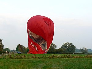 English: Hot air balloon, Hook, Wiltshire (4) ...