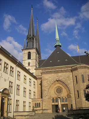 Luxembourg city - Cathedral