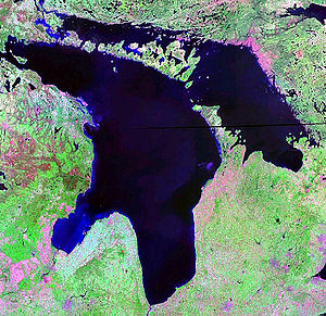 Lake Huron NASA