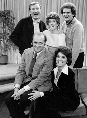 Publicity photo of the cast of The Bob Newhart...
