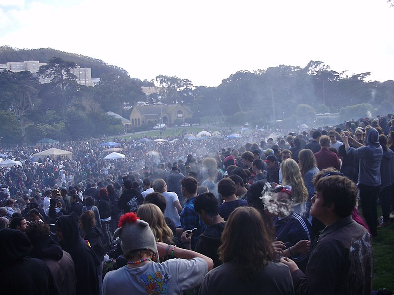 San Francisco Hippy Hill 420