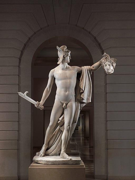 Perseus with the Head of Medusa MET DP249451