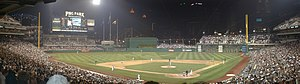 PNC Park nighttime panoramic picture