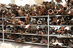 Qassam-Rockets in Sderot