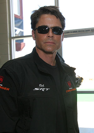 Rob Lowe ready for the All-New Dodge Challenger