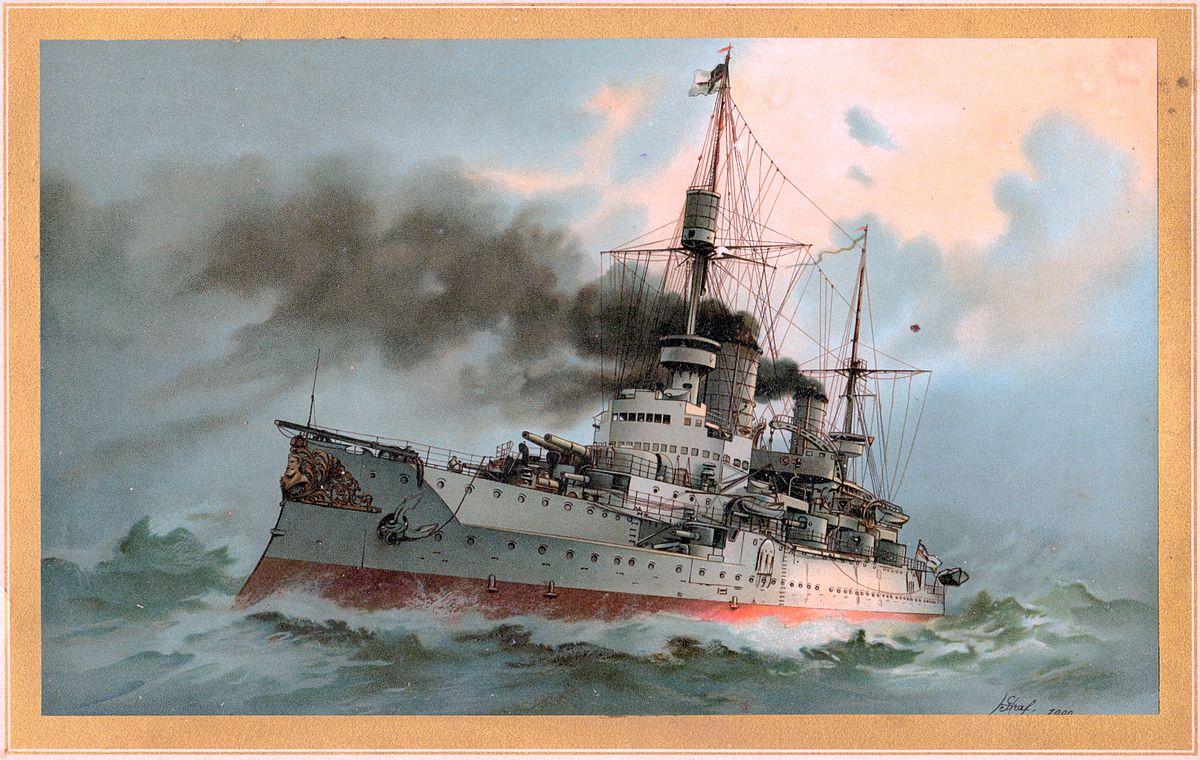 Sms Kaiser Friedrich Iii Wikipedia