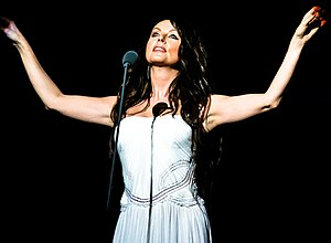 Sarah Brightman performing in 2007