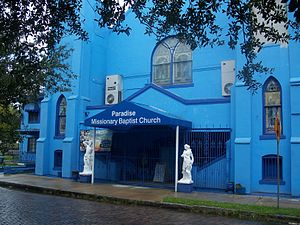 Paradise Missionary Baptist Church, in Tampa, ...