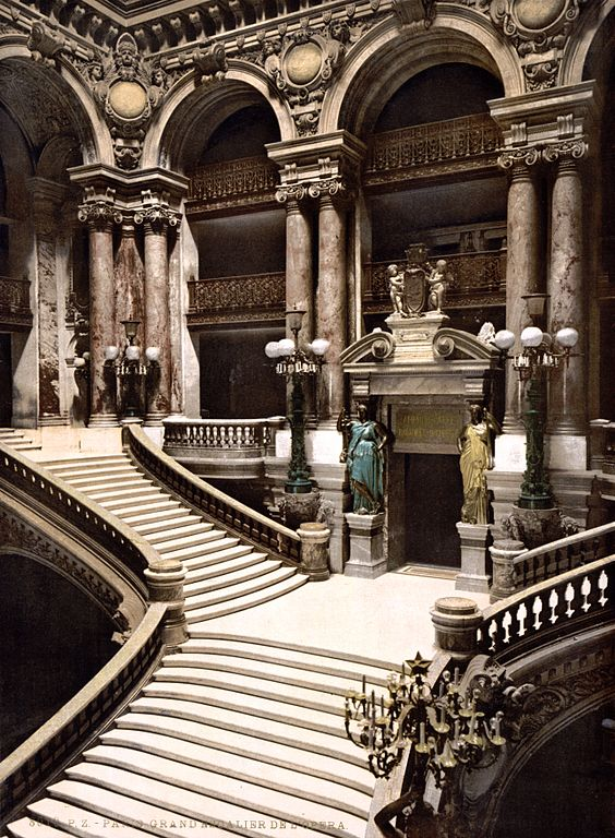 File The Opera House The Grand Staircase Paris France